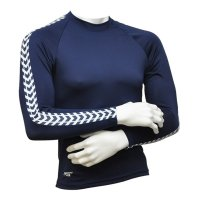 Langarm Shirt navy chevrons Frauen