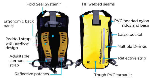 d8e3f621f5cd Overboard Classic Waterproof Backpack - 30 Litres